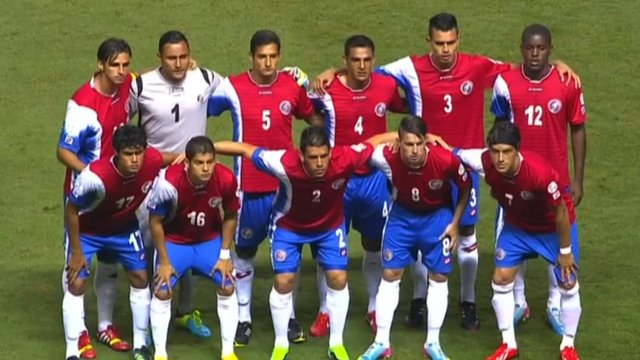 Costa Rica football team
