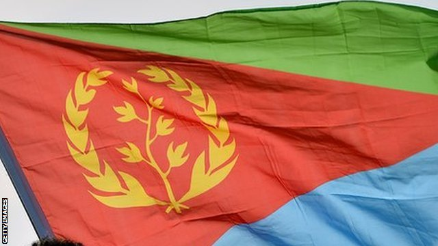 The Eritrean flag