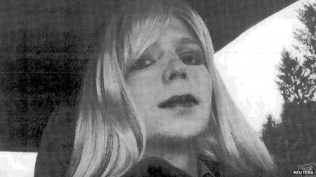 US Army Private First Class Bradley Manning is pictured dressed as a woman in this 2010 photograph obtained from the Army