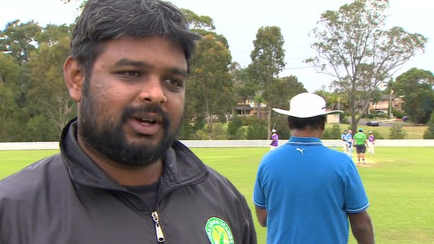 Deenu Rajaratnam, the Sydney League Manager for Last Man Stands