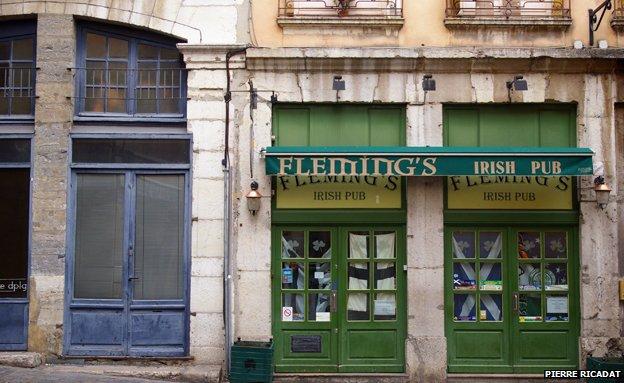 Fleming's Irish pub in Lyon