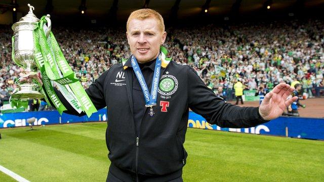 Neil Lennon won the Scottish Cup twice as Celtic boss