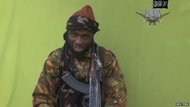 Boko Haram leader Abubakar Shekau appears in an undated video posted online 12 May 2014