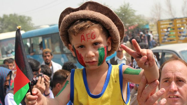 Famous victories have have brought Afghans of all ages and ethnicities together in celebration