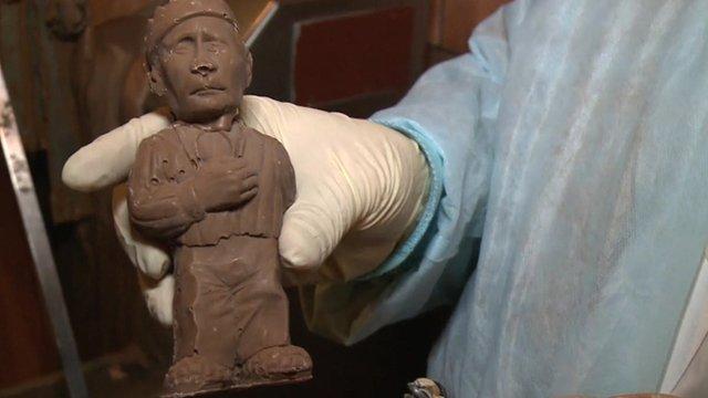 A chocolate Putin