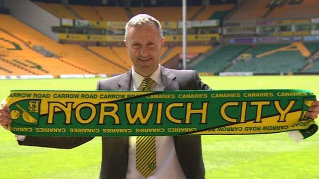 Norwich City unveil Neil Adams as manager