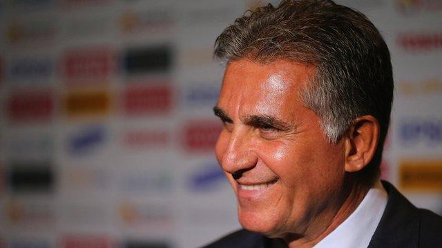 Iran's Coach - Carlos Queiroz