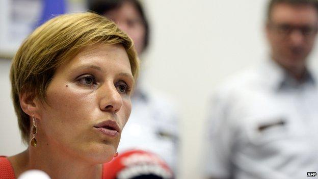 Brussels public prosecutor's spokeswoman Ine Van Wymersch