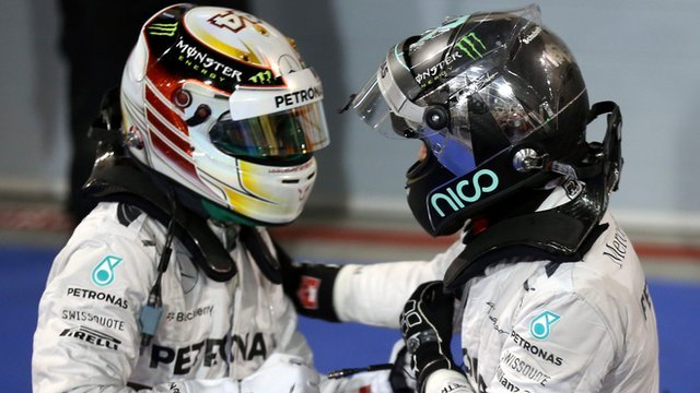 Lewis Hamilton v Nico Rosberg: The story so far