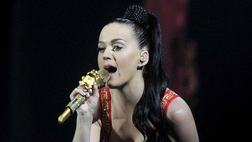 Katy Perry closed Radio 1's Big Weekend in Glasgow