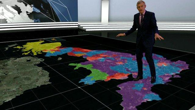 Jeremy Vine on virtual map of UK