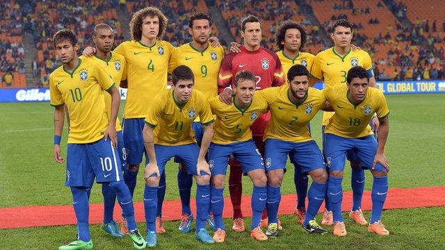 World Cup team profile: Brazil