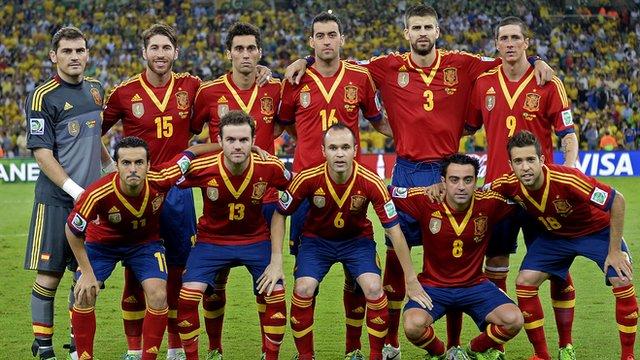 World Cup team profile - Spain