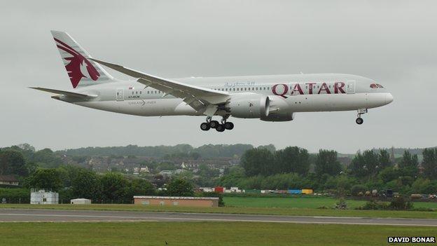 Qatar Boeing 787