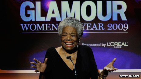 Maya Angelou at the 2009 Women of the Year Awards hosted by Glamour Magazine in New York