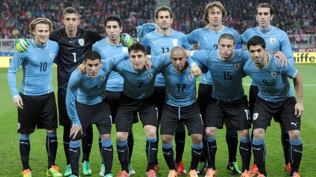 World Cup team profile: Uruguay