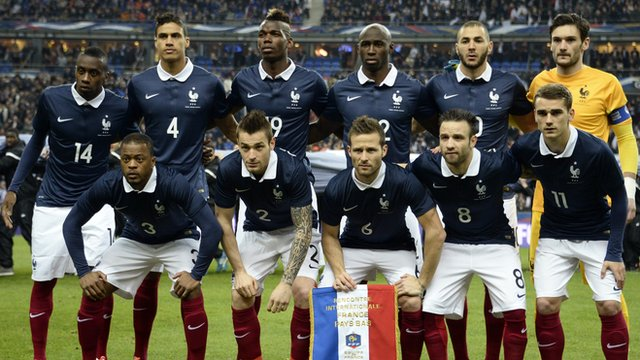 World Cup team profile: France