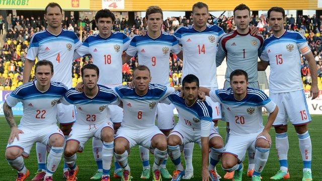 World Cup team profile: Russia