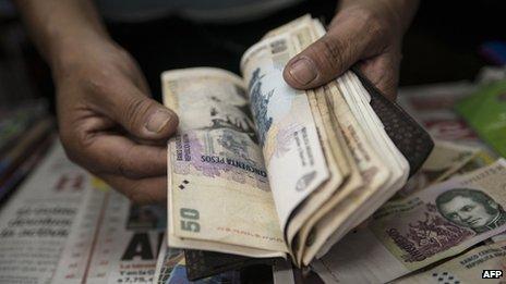Peso notes