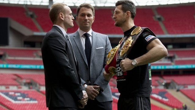 George Groves and Carl Froch will do battle again at Wembley Stadium on Saturday
