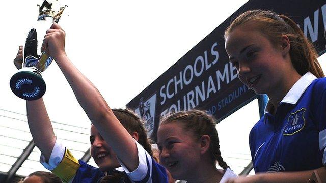Everton are the 2014 Premier League Schools champions