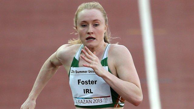 Northern Ireland sprinter Amy Foster