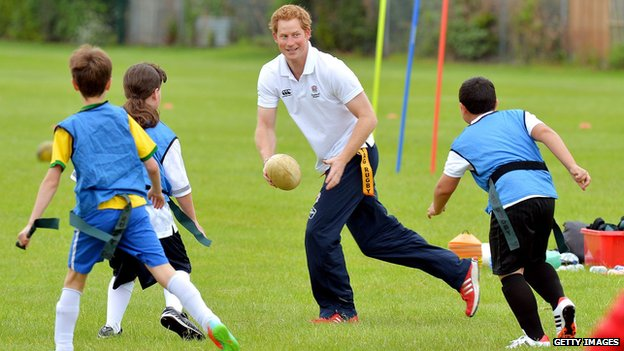 Prince Harry at Inspire Suffolk