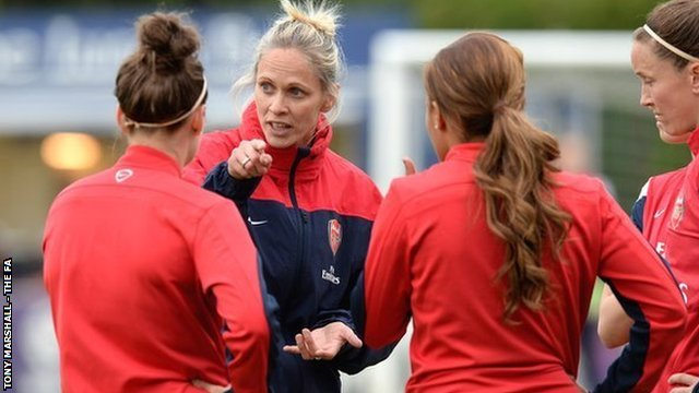 Shelley Kerr will lead Arsenal into one last cup final on Sunday