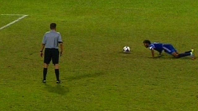 Maldives striker Adey Ashadh Ali