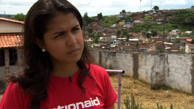 Jessica Barbosa from Action Aid