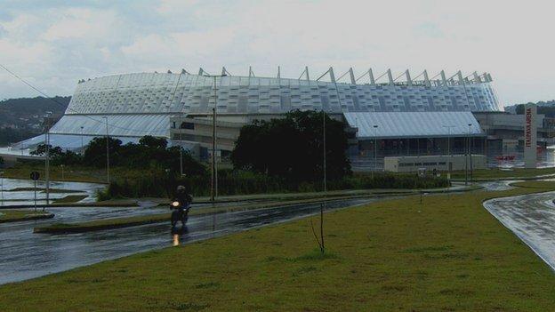 Recife football stadium