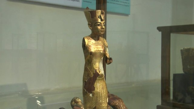 A stolen artefact that has been recovered