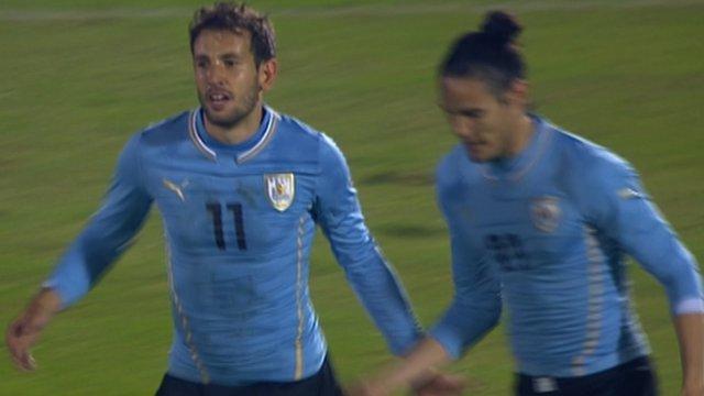 Christian Stuani scores for Uruguay