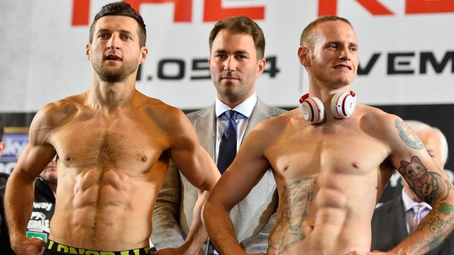 Carl Froch says he learned a lot from the first fight with George Groves