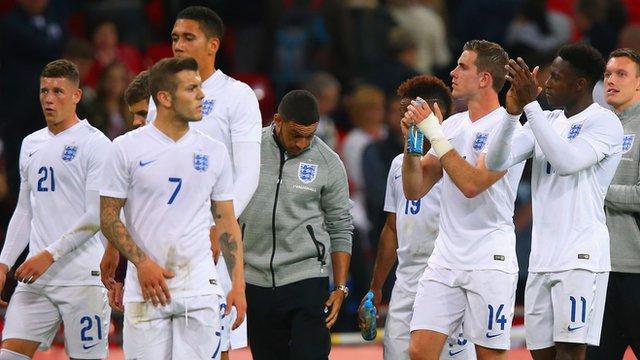 England cautious after Peru win