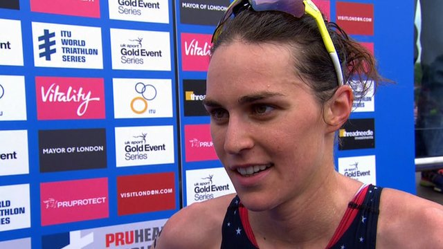 USA's Gwen Jorgensen eases to win in London