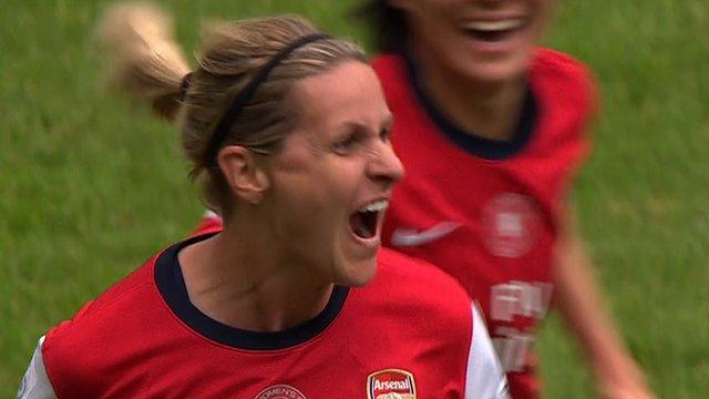 Smith's stunning free kick gives Arsenal lead