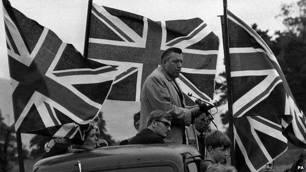 Ian Paisley in 1970