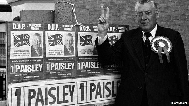 Ian Paisley at 1979 European election