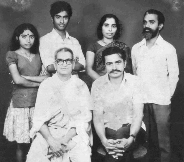 Sanal Edamaruku with his family