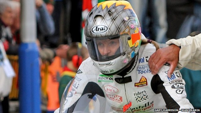 Maria Costello is the only female solo competitor at TT 2014