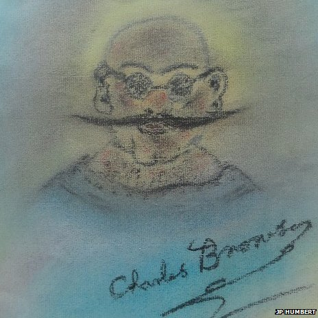A self portrait by Charles Bronson