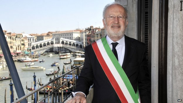 Giorgio Orsoni, Mayor of Venice