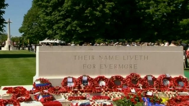The British cemetery at Bayeux