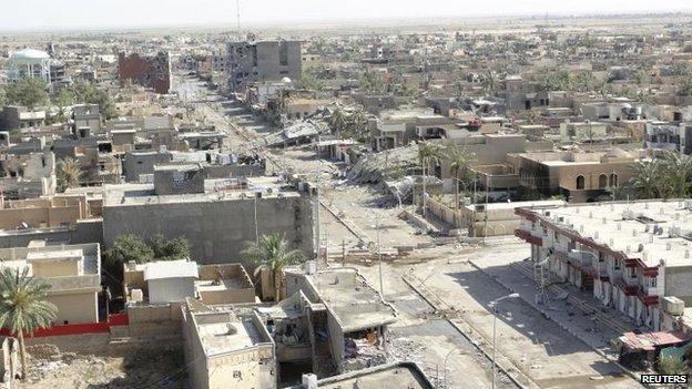 General view of Ramadi, May 2014