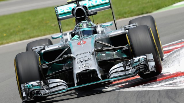 Mercedes driver Nico Rosberg