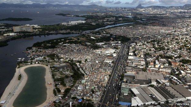 Artificial beach, Ramos, Rio
