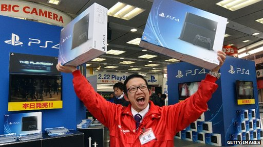 PS4 on sale in Japan