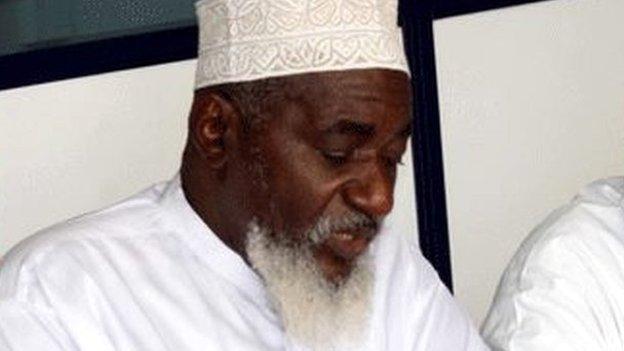 Sheikh Mohammed Idris pictured in Mombasa, Kenya