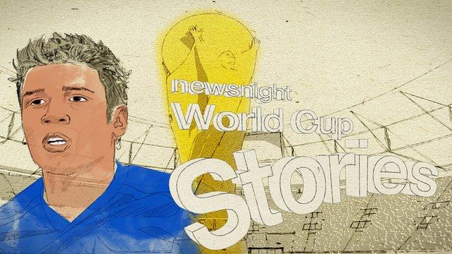 Newsnight World Cup stories